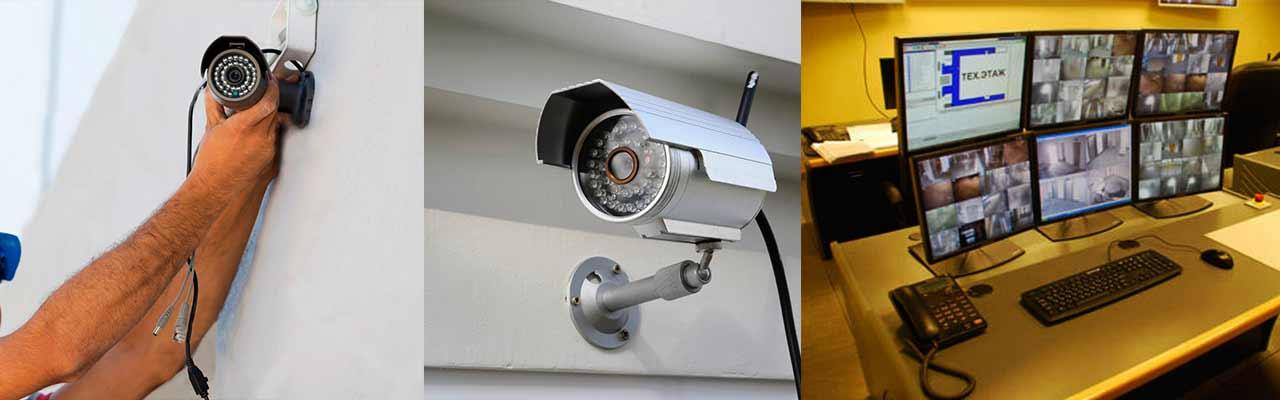 Тут мы провели монтаж камер видеонаблюдения, обустроили КПП и наблюдательный пункт с мониторами